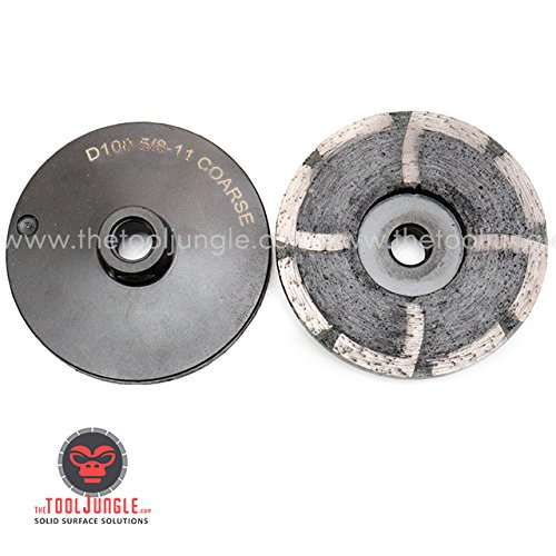 4 Inch Diamond Resin Cupwheel Coarse Medium Fine Grinding Granite Stone Concrete