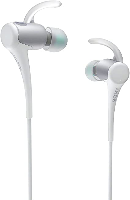 Amazon Com Sony Mdras800bt Active Sports Bluetooth Headset White Home Audio Theater