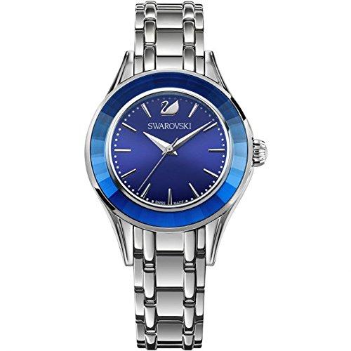 Swarovski Reloj analogico para Mujer de Cuarzo con Correa en Acero Inoxidable 5194491: Amazon.es: Relojes