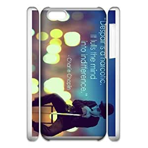 charlie chaplin quote iPhone 6 4.7 Inch Cell Phone Case 3D 53Go-055211