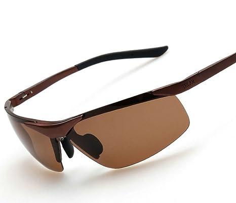 TELAM Aviation Aluminum Magnesium Driving Mirror Polarized Sunglasses
