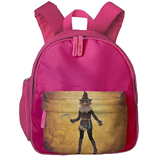 Halloween Carrier Mom And Costumes Baby (Halloween Creepy Scarecrow Costume Kids Water-proof Shoulder Backpack Children)