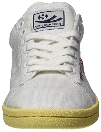 Superga 4832 Piquetcotu, Baskets Mixte Adulte White (White/Amazon)