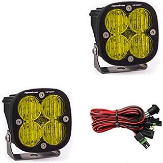 product image for Baja Designs Squadron Sport Pair UTV LED Light Wide Cornering Amber Pattern