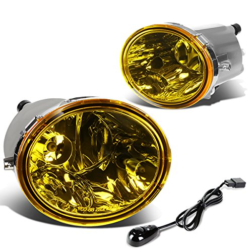 (For Tundra/Sequioa Pair of Driving Fog Lights + Wiring Kit + Switch (Amber Lens))