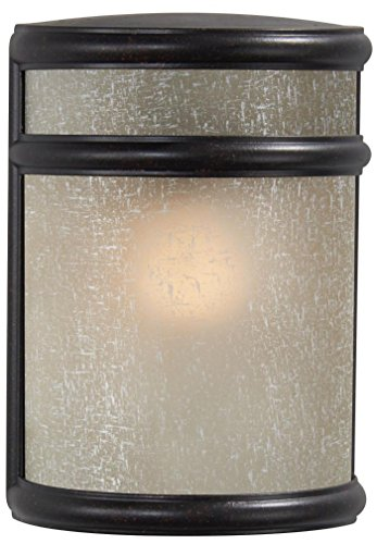 Minka Lavery Outdoor Wall Light 9811-166 Delshire Point Exterior Pocket Sconce Lantern, 60 Watts, Bronze