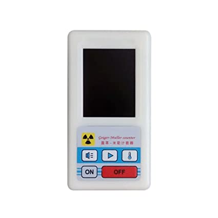 Amazon.com: Counter Nuclear Radiation Detector Display Screen Dosimeter Geiger Counters White: Kitchen & Dining