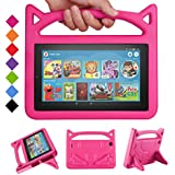 New Fire 7 Tablet Case 2019/2017 -SHREBORN Kids...