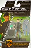 """G.I. Joe The Rise of Cobra 3 3/4"""" Action Figure General Clayton """"Hawk"""" Abernathy (Attack on the G.I. Pit)"""