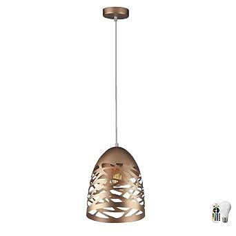 RETRO LOOK Pendel Decken Lampe grau Ess Zimmer Küchen Hänge Leuchte BETON-Farben