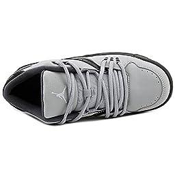 Nike Jordan Kids Jordan Flight 23 BG Wolf Grey/Pr Pltnm/Blck/Cl Gry Basketball Shoe 7 Kids US