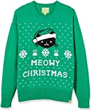 Ugly Fairisle Unisex Adult Crew Neck Long Sleeve Jacquard at Front Pullover