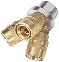 TEKTON 47290 3-Way Quick Connect Air Hose Splitter Manifold, 1/4-Inch NPT