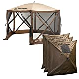 Quick-Set Clam Escape Outdoor Gazebo Canopy + 3 Wind Panels Review