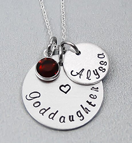 Amazon goddaughter necklace gift for godmother godmother goddaughter necklace gift for godmother godmother pendant aloadofball Gallery