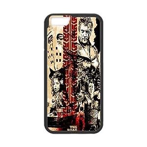 iPhone 6 6S 4.7 Inch funda Negro [PC dura del caso + HD Pattern] la serie Mad Max ® [Numeración: JJJJDHKOD3362]