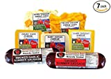 Wisconsin Cheese & Sausage Popular Assortment Football Game Sampler (4.45 lbs)