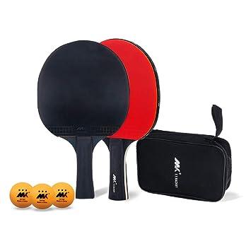 LangRay Juego de Tenis de Mesa, Raqueta de Tenis de Mesa El ...