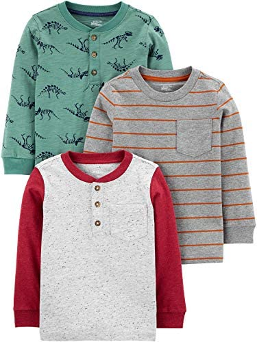 Simple Joys by Carter's Baby 3-Pack Long Sleeve Shirts