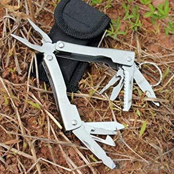 9in1 Outdoor Stainless Steel Multi Tool Plier Portable Pocket Mini Camping Kit 1SZ8 RASP dremel 2016