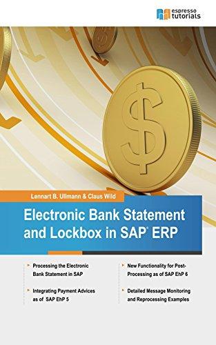 Amazon electronic bank statement lockbox in sap erp ebook electronic bank statement lockbox in sap erp by wild claus ullmann fandeluxe Choice Image