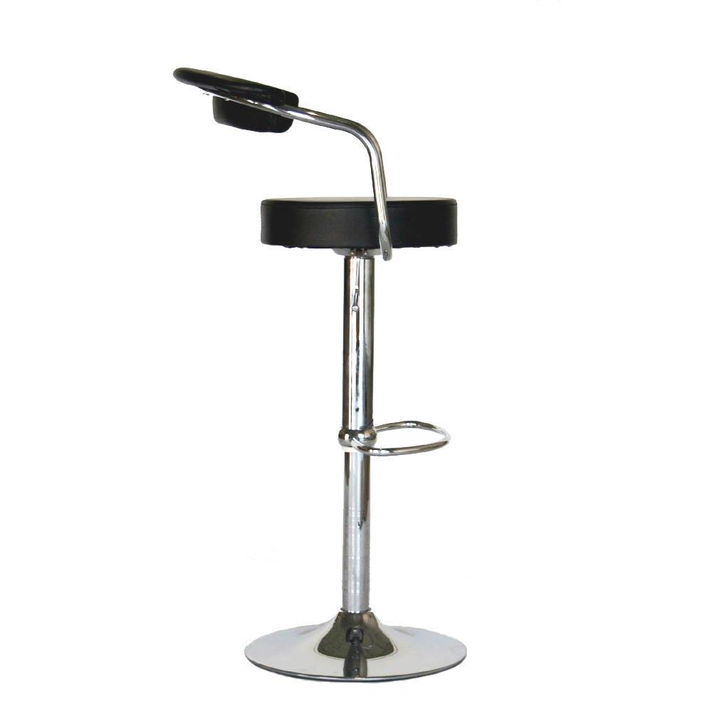Amazon.com: Modern Contemporary Adjustable Bar Stools, Set Of 2: Kitchen U0026  Dining
