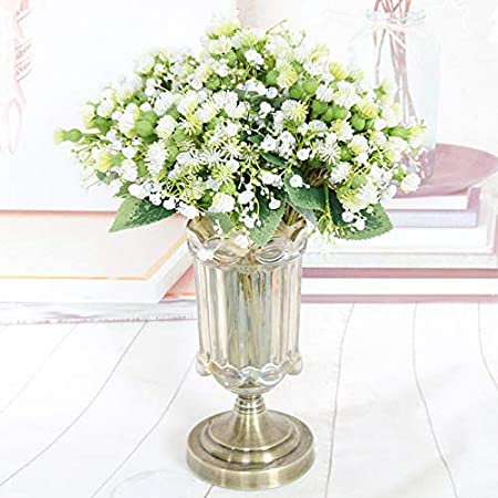 Home Decor Htmeing Baby Breath Bouquet Artificial Flowers Wedding Bridal Bouquet Gypsophila Flowers Berries Mixed For Wedding Party Home Decoration White Home Newid Com Sg