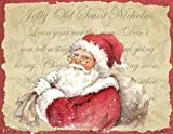 LANG -''Old Saint Nick'', Boxed Christmas Cards, Artwork by Betty Whiteaker'' - 18 Cards, 19 envelopes - 5.375'' x 6.875''