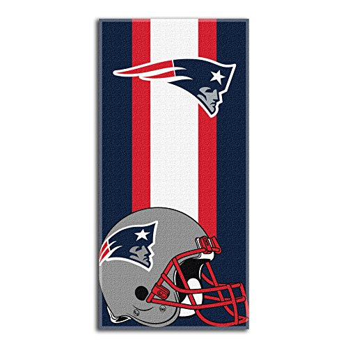 NFL New England Patriots Zone Read Beach Towel, 30