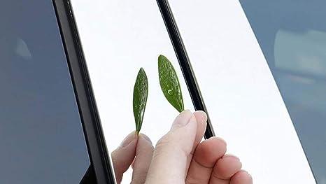 Accesorios exteriores de aleación de aluminio de carbono, marco de moldeado para ventana, accesorio