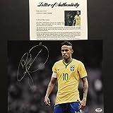 Autographed/Signed Neymar Jr. Brazil World Cup Soccer Futbol 11x14 Photo PSA/DNA COA/LOA #3