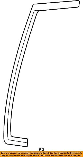 Genuine Ford F3UZ-1543722-A Weatherstrip