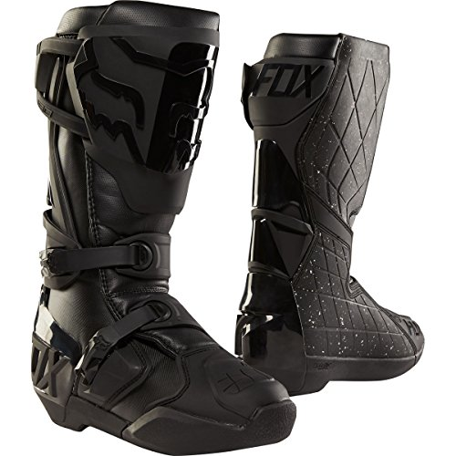 Fox Racing 180 Men's Off-Road Motorcycle Boots - Black/Black / 12 by Fox Racing