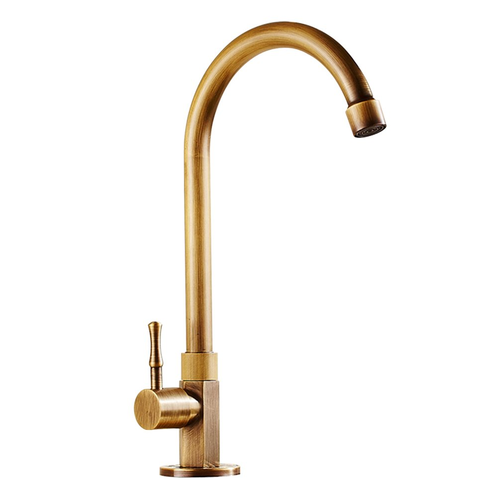 Antique Brass Faucet for Way Less