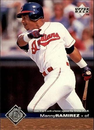 Amazoncom 1997 Upper Deck Baseball Card 345 Manny Ramirez
