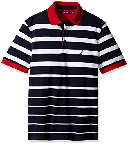 f875d13fea Gradient pique stripes polo shirt the best Amazon price in SaveMoney.es