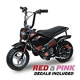 Monster Moto 250 Watt Electric Mini Bike - MM-E250-PR