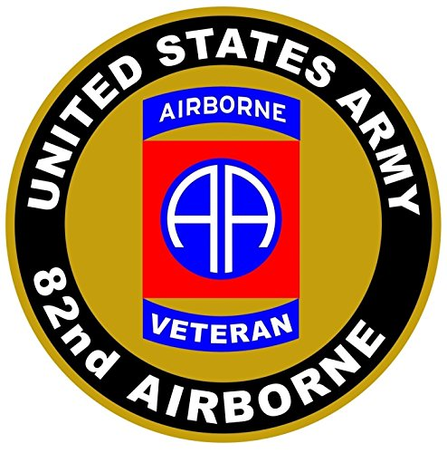 1 Pc Glistening Unique United States Army Veteran 82nd Airborne US Sticker Sign Vinyl Car Decals Military Truck Bumper Window Cars Trucks Decal Bike Patches Mac Apple Wall Stickers Decor - Us Raybans