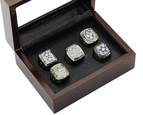 Dallas Cowboys Supper Bowl Championship Rings Full Set Replica