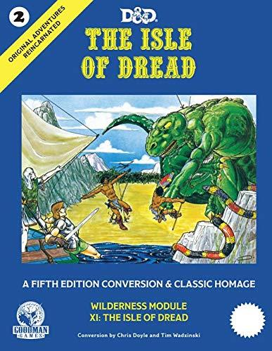 Original Adventures Reincarnated #2 - The Isle of Dread (Game Module)