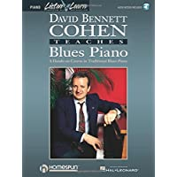 David Bennett Cohen Teaches Blues Piano (Listen & Learn) Bk/Online Audio