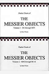 FINDER CHARTS OF THE MESSIER OBJECTS (2-VOLUMES)  Volume 1-M1 through M55; Volume 2-M56 through M110 Plastic Comb