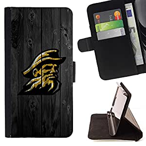 DEVIL CASE - FOR Samsung Galaxy Core Prime - Cool Retro Cowboy Football - Style PU Leather Case Wallet Flip Stand Flap Closure Cover