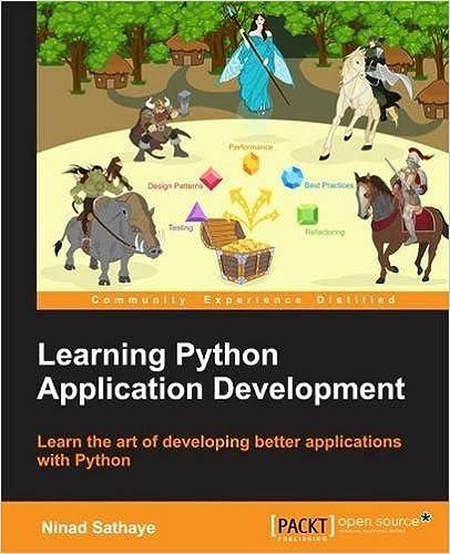 Descargar ebooks epub Learning Python Application