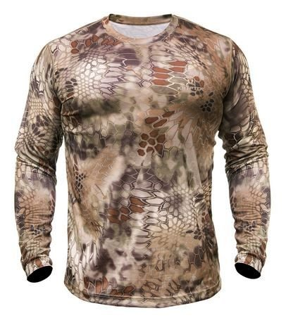 Kryptek Hyperion LS Crew - Long Sleeve Camo Hunting Shirt (K-Ore Collection)