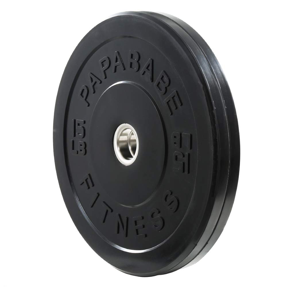 XMark XM-3675 Olympic Curl Bar and TRI-Grip Olympic Plate Weight Sets, Olympic Bar Upgraded with Brass Bushings, Premium Quality Rubber Coated Weight Plates