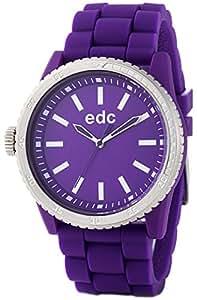 edc By Esprit Rubber Starlet - Reloj de pulsera para mujeres, color morado
