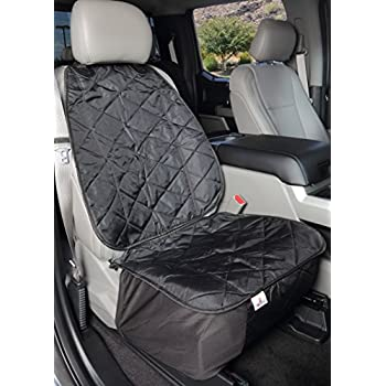 Front Seat Covers for Dogs in Cars Trucks or SUVs Bucket Seats - USA Based Company
