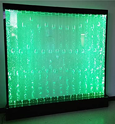"""LED Full Color Smart Bubble Pattern Wall, 79"""" x 79"""", Advanced Water Fountain Panel, Home or Commercial"""