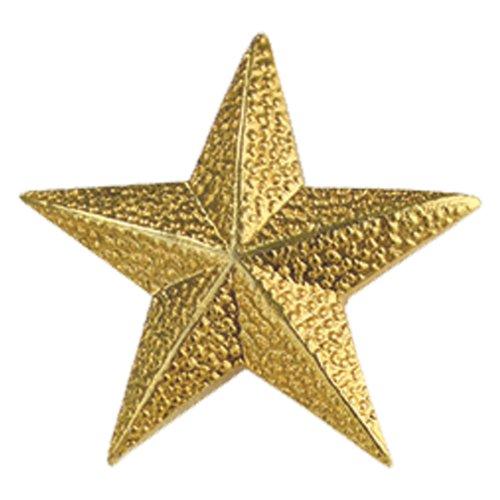 Set of 100 Lapel Pins - Gold Star Pins ()